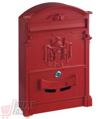 Cutie poştală  ASHFORD roşu