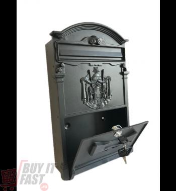 Cutie poştală  RUSTICA antracit negru