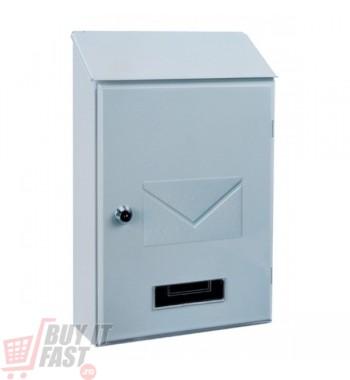 Cutie poştală PISA alb
