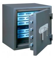 Seif antiefracţie antifoc FireProfi 65 Premium închidere electronică