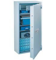 Seif antifoc antiefractie SUPERPAPER120 Premium  închidere cheie