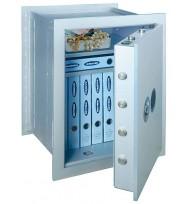 Seif perete antiefracţie antifoc Stone Premium SE-65 închidere cheie