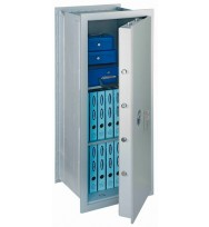 Seif perete antiefracţie antifoc Stone SE 120 Premium închidere cheie