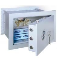 Seif perete antiefracţie antifoc Stone Premium SE-45 închidere cheie
