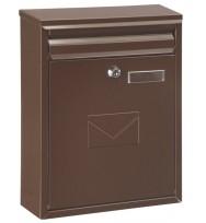 Cutie poştală COMO maro