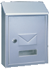 Cutie poștală UDINE argintiu